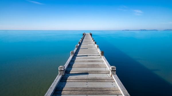 La Croix Valmer pontoon - Landscape - Michel Voogd Photography
