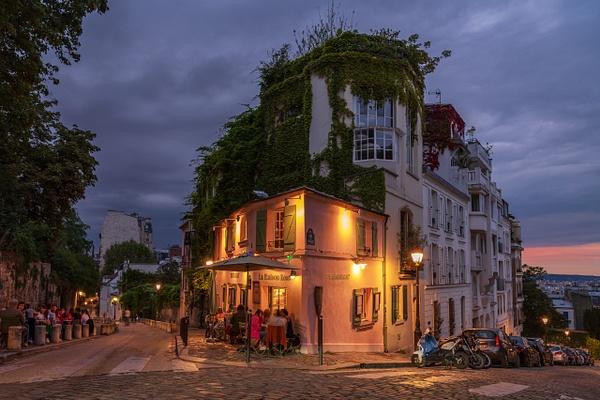 Montmartre - La Maison Rose - Travel - Michel Voogd Photography