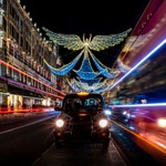 London's West End Christmas lights