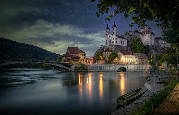 Aarburg-Castle-By-Night - Marko Klavs Photography