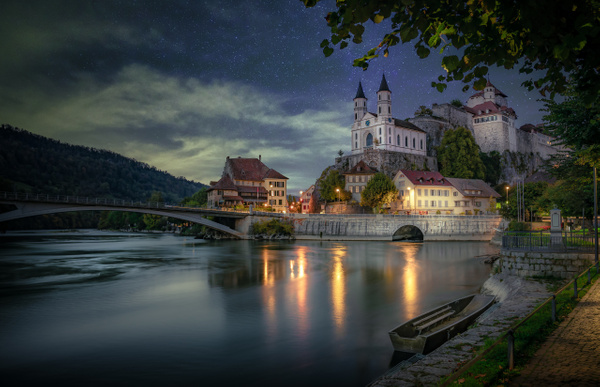 Aarburg-Castle-By-Night - Marko Klavs Photography