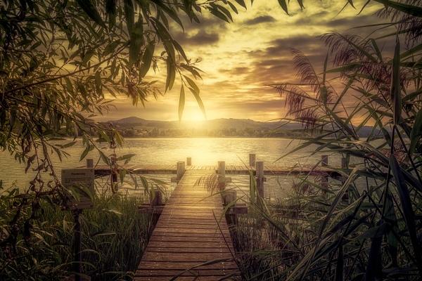 Pfäffikersee-Pfaffikon-Lake-Sunset - Landscape - Marko Klavs Photography