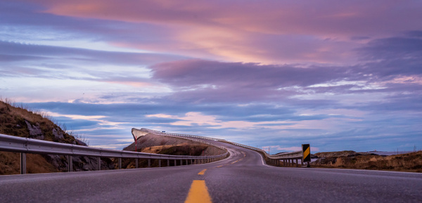 Atlantic ocean road 2 by Saad Najam