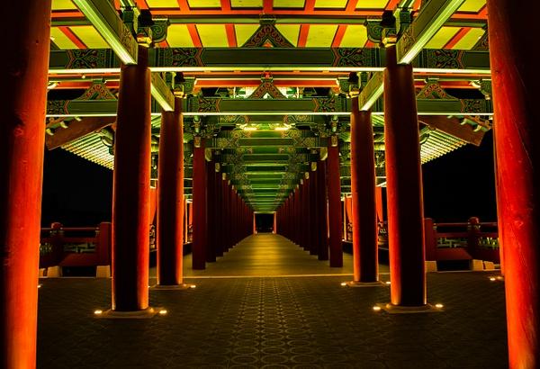 Woljeong Bridge South Korea - Architecture - Nicola Lubbock Photography
