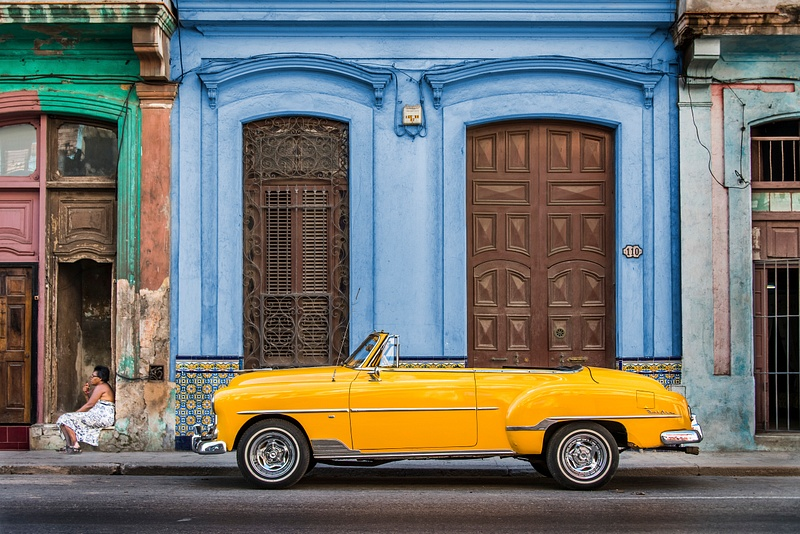 Cuba Yellow Car (new final)