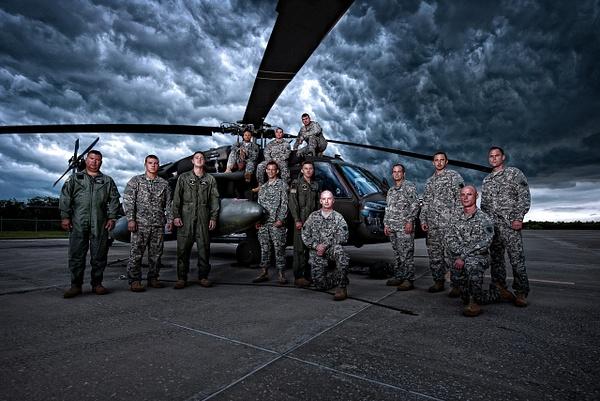 Army Black Hawks (2016 edit) by Scott Kelby