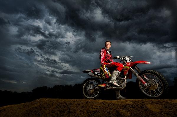 New Motorcross Portrait Edit by Scott Kelby