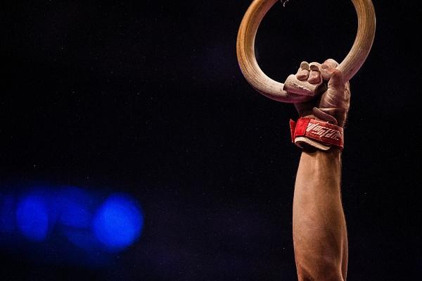 Gynastics Rings 1 - Sports - Scott Kelby