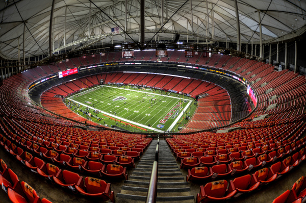 Fisheye Stadium 2 by Scott Kelby