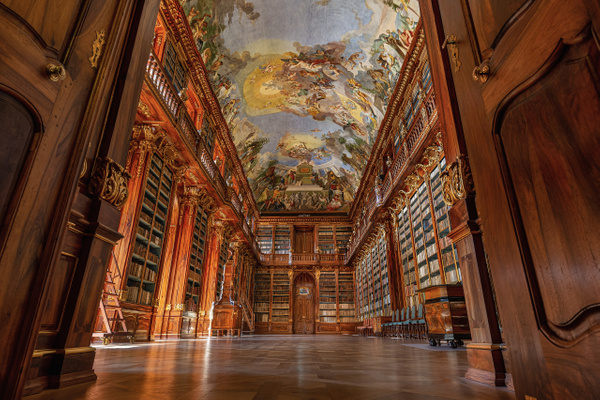 Prague Library 1 - The Great Indoors - Scott Kelby