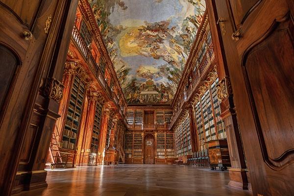 Prague Library 1 by Scott Kelby