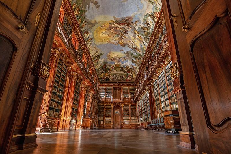 Prague Library 1