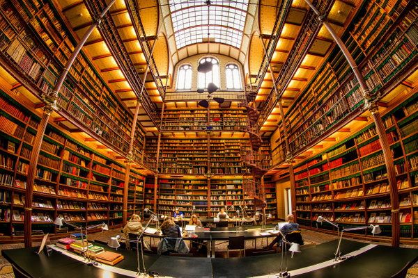Amsterdam Library 7a by Scott Kelby