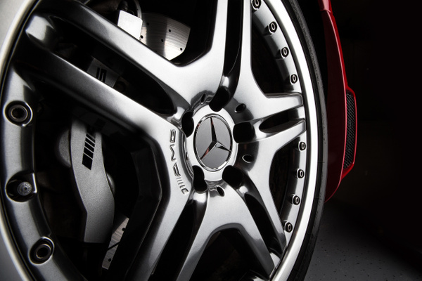 Mercedes AMG Wheel Up Close by Scott Kelby