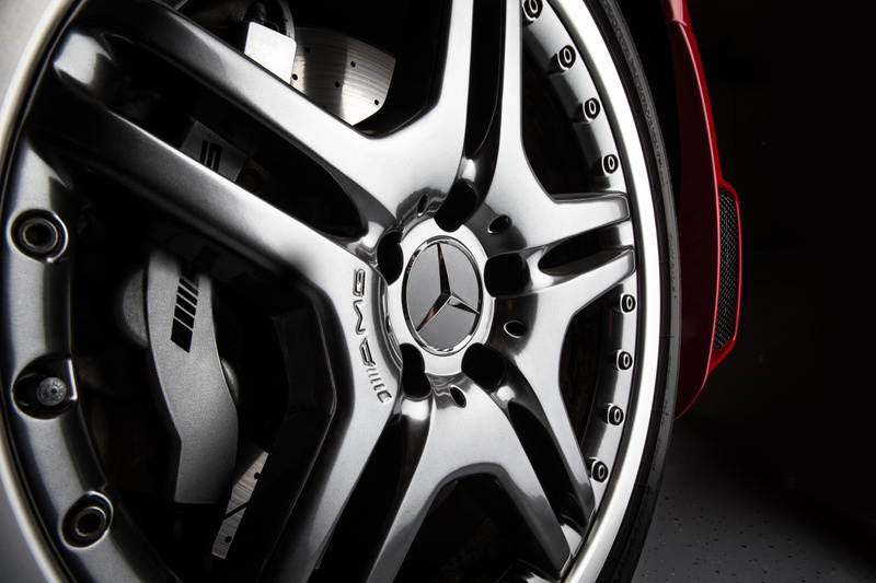 Mercedes AMG Wheel Up Close