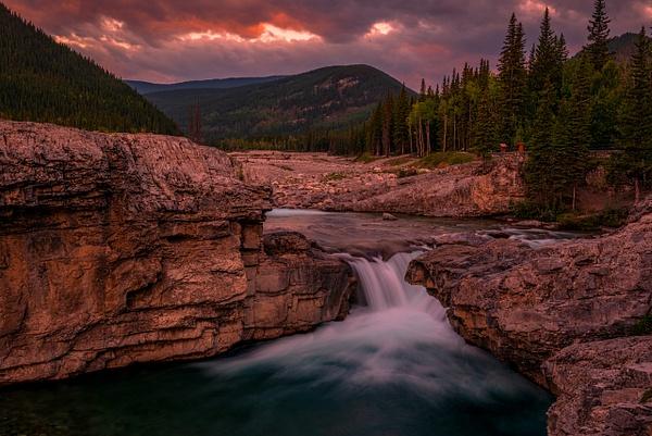 Elbow Falls 2020 - 2 by Yves Gagnon