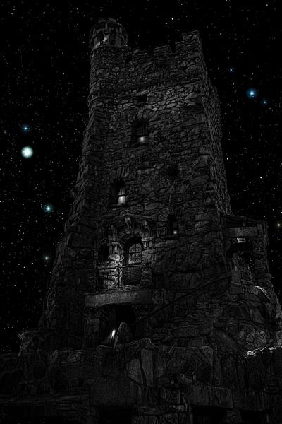 Frankenstein Caster (US1747) - Black White -Bella Mondo Images