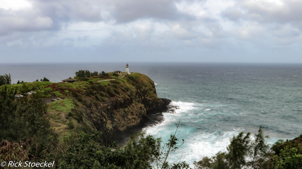 Lighthouse in the Rain - Home - Rick Stoeckel