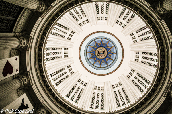 Clock Tower Dome - Hometown Boston - Rick Stoeckel