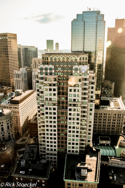 Heading Downtown - Hometown Boston - Rick Stoeckel