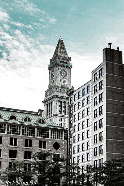Customs House Tower - Hometown Boston - Rick Stoeckel