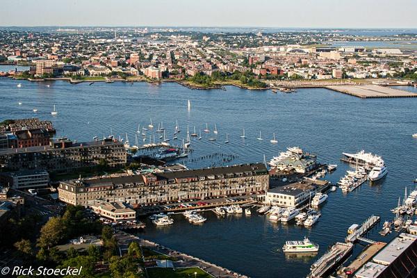 Inner Harbor - Hometown Boston - Rick Stoeckel