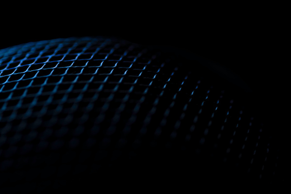 blue speaker abstract by Snowkeeper