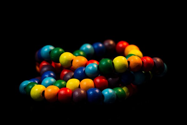 Colored Beads 1 by Snowkeeper