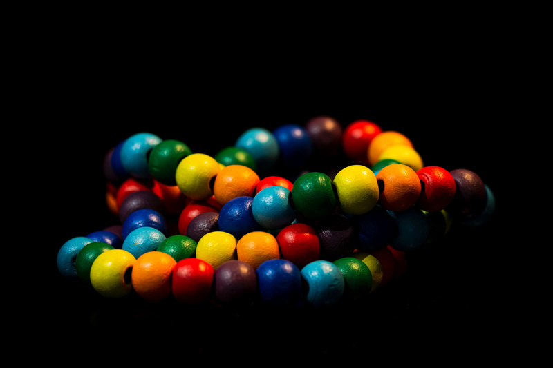 Colored Beads 1