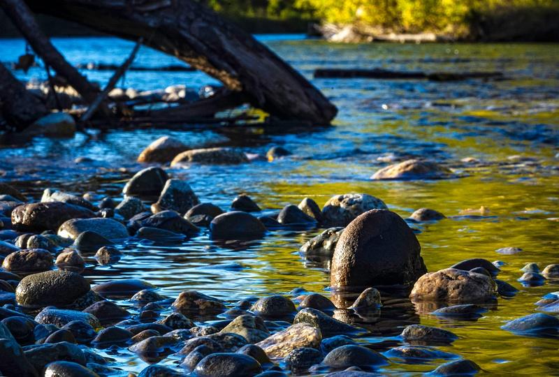 Fall River Yellow Blue