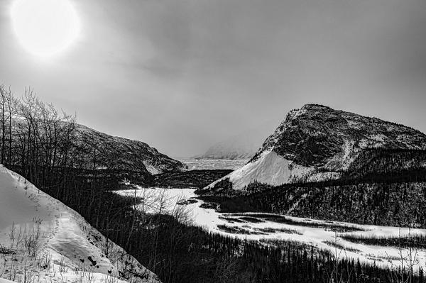 Glacier bw by Snowkeeper