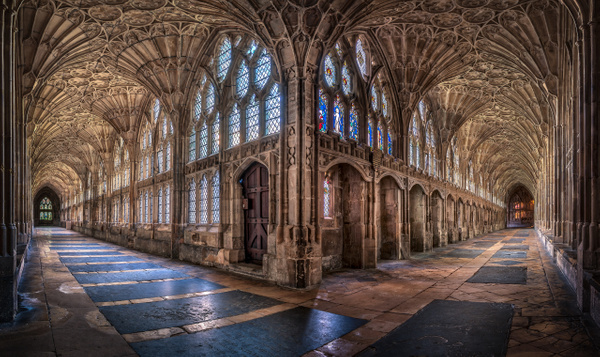 Cloisters-Gloucester Cathedral