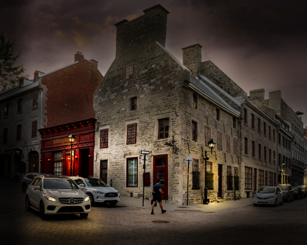 Montreal Old Port District by MichaelBrownPhotography