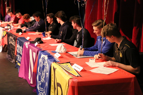 NLI Signing Day - February 5, 2020 by Regis Jesuit High...
