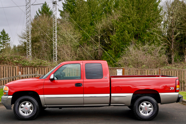 2000 GMC Sierra 1500 SLT Extended Cab  3-Door Short Bed...
