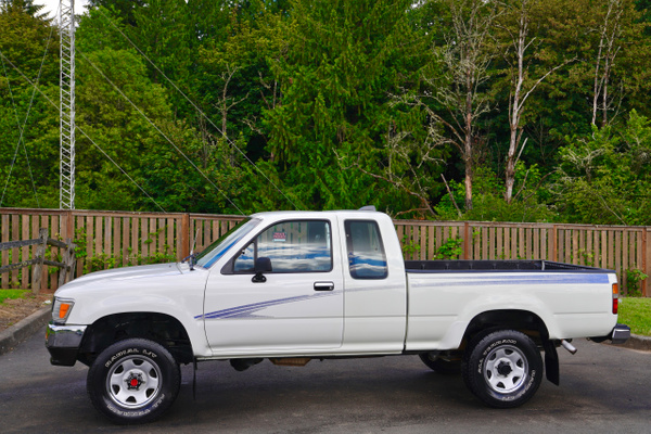 1992 Toyota Xtra Cab Deluxe Standard Bed 4x4 Pickup...