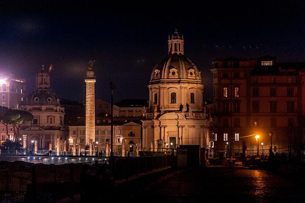 Rome by Night - Italy - MassimoUsai