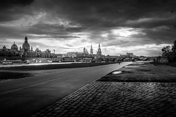 Dresden - Black and White - MassimoUsai