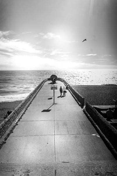Brighton - Black and White - MassimoUsai