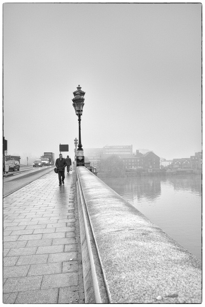 Under the Fog - Black and White - MassimoUsai