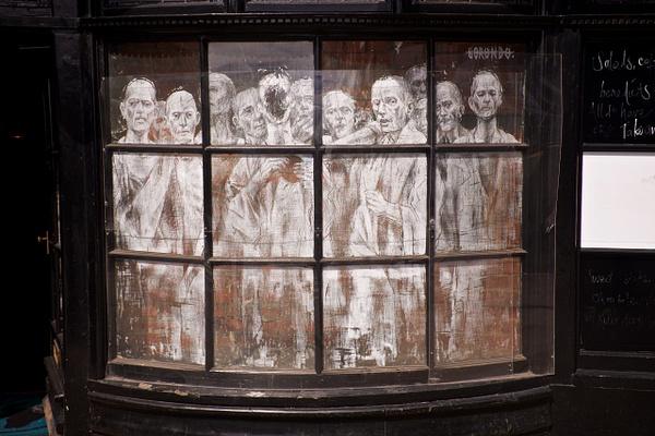 Ghost in the window - URBAN - MassimoUsai