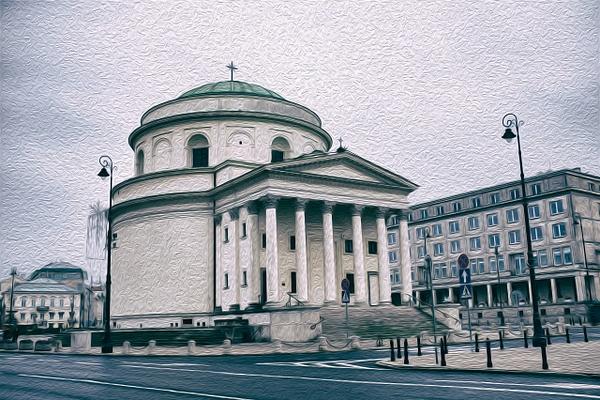 Warsaw - Oil Paint - MassimoUsai