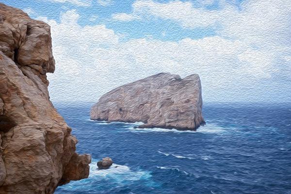 Sardinia 2 - Oil Paint - MassimoUsai