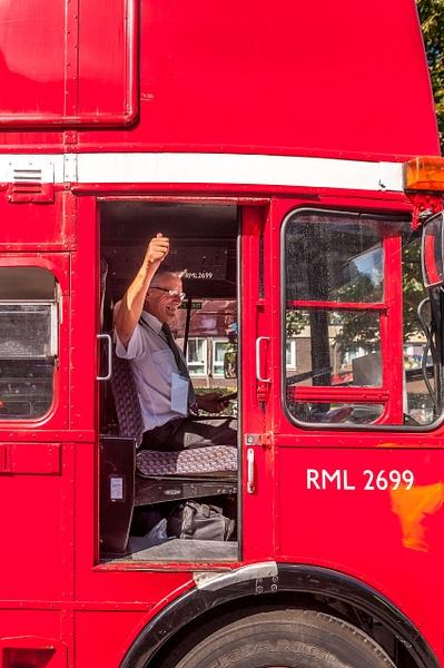 BUS DRIVER - STREET PHOTO - MassimoUsai