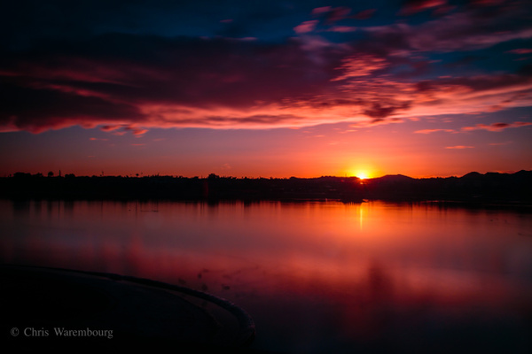 Fountain-Hills-Park-Fountain-Lake-Sunset
