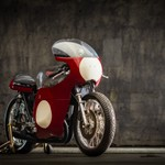 Triumph race bike