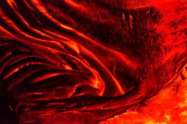 Night Lava - Nature - Steve Juba Photography