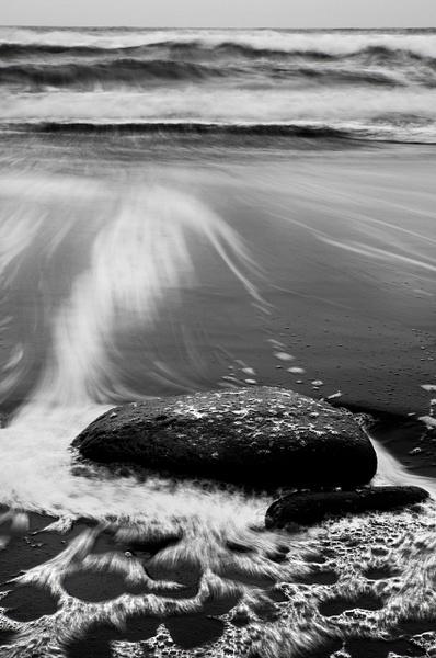 Rock Waves BW Chromatic Abb Fix - Nature - Steve Juba Photography