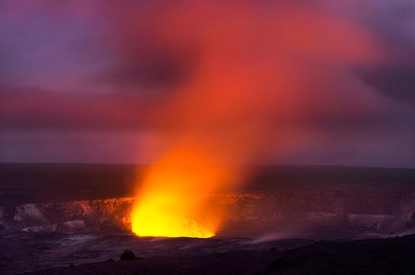 Kiluea Crater Night edit 3 - Nature - Steve Juba Photography