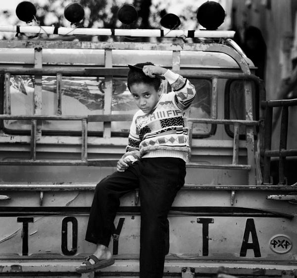 Slick kid crop BW - People & Culture - Steve Juba Photography